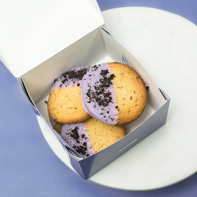 5 лавандовых печений
