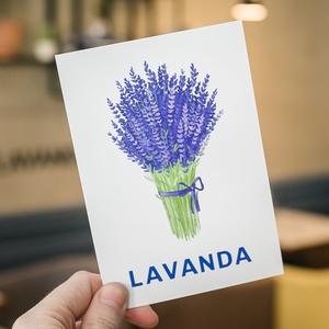 """Открытка """"LAVANDA"""""""