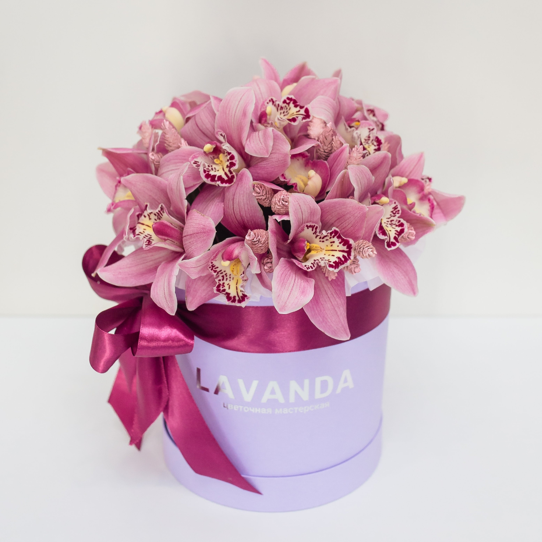 Коробочка королевских орхидей