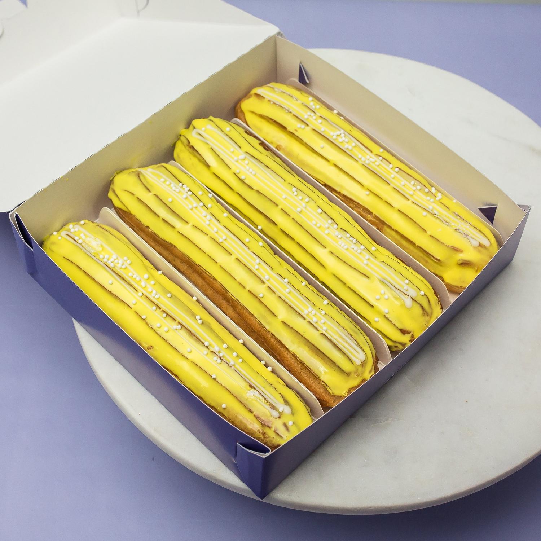 Набор из 4 эклеров «Банан»