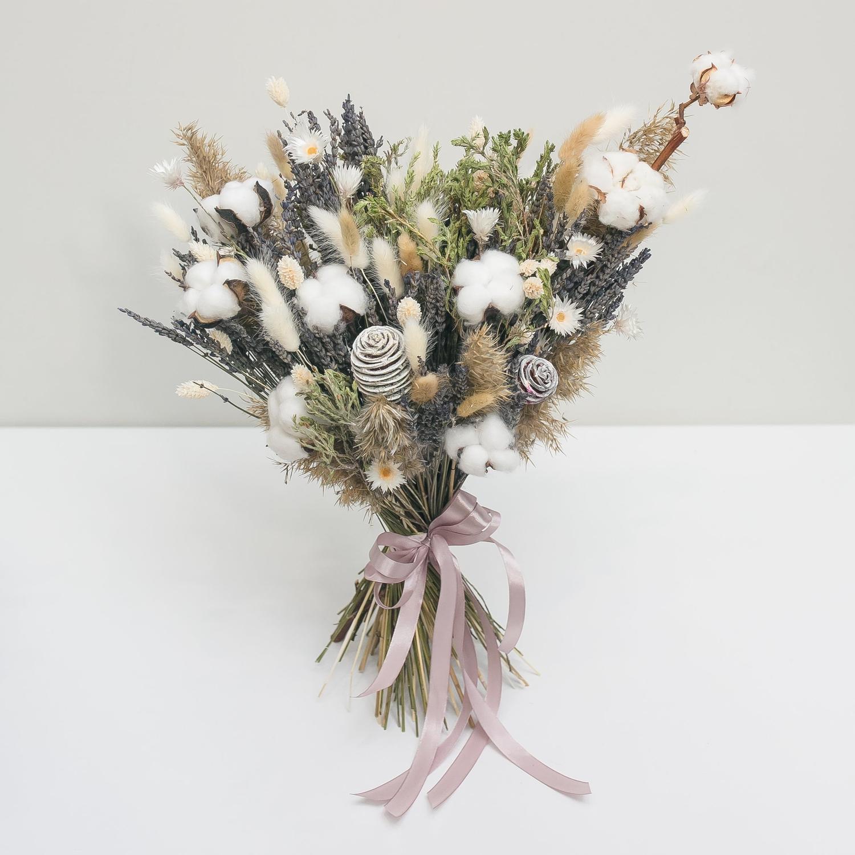Полевой букет сухоцветов